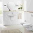 Wyposażenie łazienki służące czystości