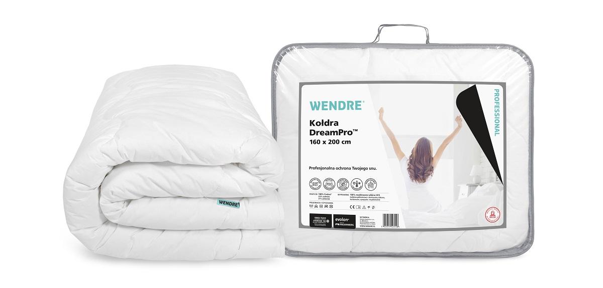 DreamPro™ – nowa  generacja profesjonalnych kołder i poduszek od marki Wendre